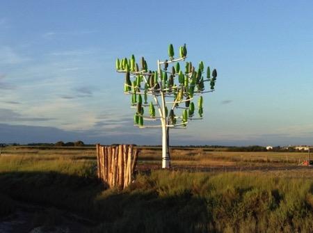 人造风力发电树创意设计