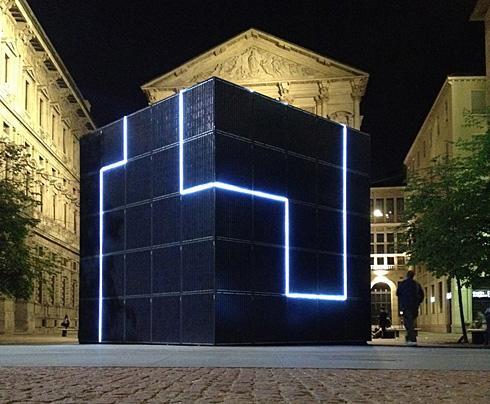 意大利街头的太阳能热点方块创意设计