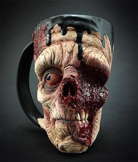 这个杯子你敢用吗?创意设计
