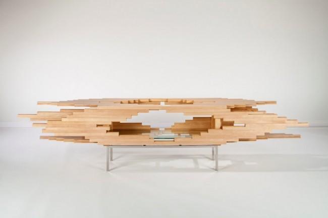 Explosion完美力学木柜创意设计