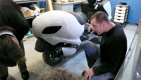 可爱的Q版摩托车创意设计