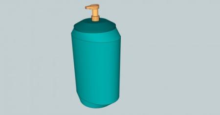 创新零浪费按压瓶创意设计