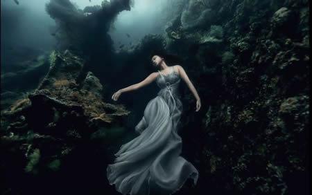 超梦幻海底婚纱照创意设计