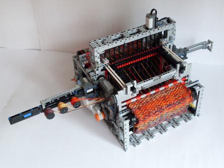 乐高织布机创意设计