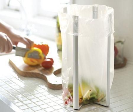 实用塑料袋支撑架创意设计
