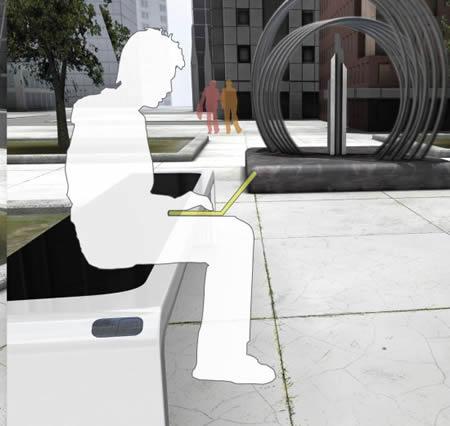 多功能长椅创意设计