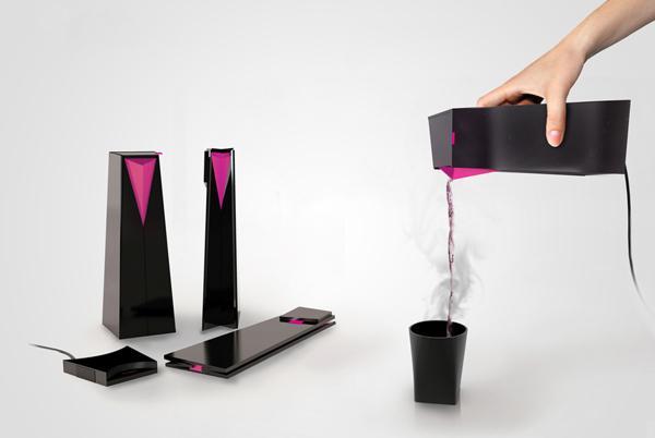 折叠电热水壶创意设计