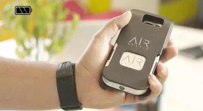 Airselfie能自拍更能装B的迷你航拍神器创意设计