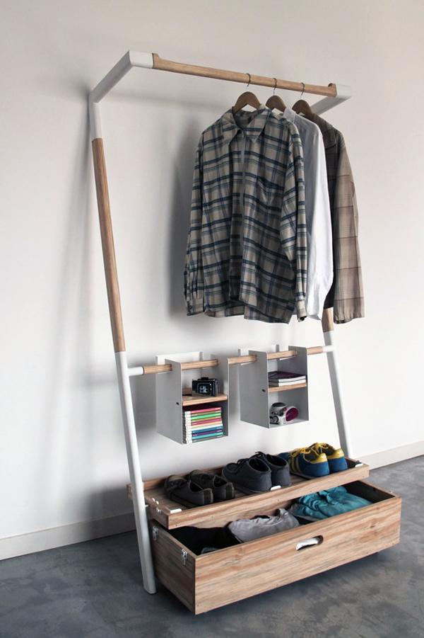 便捷拆装衣架套件创意设计