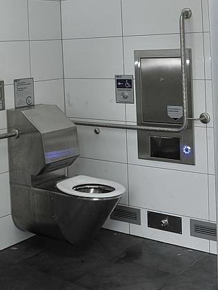 悉尼智能公厕:自动清洗烘干创意,10分钟后赶人走