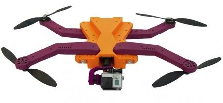 自动跟踪拍摄的小型无人机创意设计