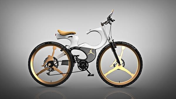 灵感源于乔丹的篮球自行车创意设计