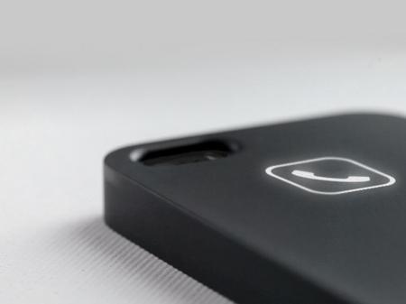 无线无源来电亮灯手机壳创意设计