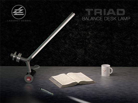 优雅的砝码台灯创意设计