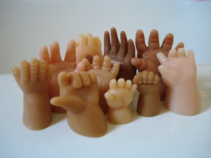 手型肥皂创意设计