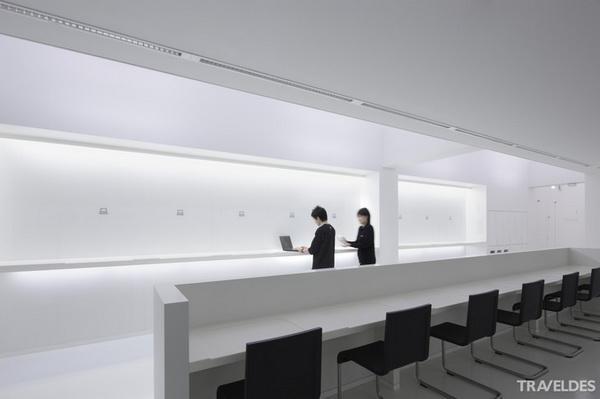 """旅馆新创意设计:日本九小时""""胶囊""""旅馆"""