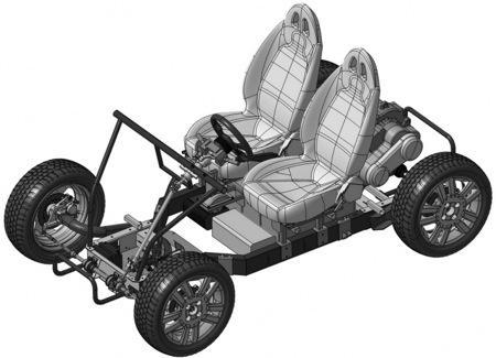 DIY开源家庭轿车创意设计