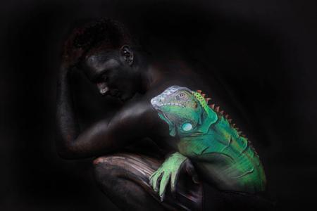 唯美人体彩绘艺术创意设计