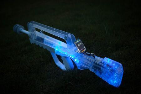 真人枪战激光枪创意设计