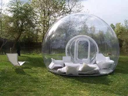 全透明气泡帐篷创意设计