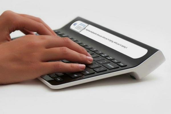 Smartype显示屏键盘创意设计