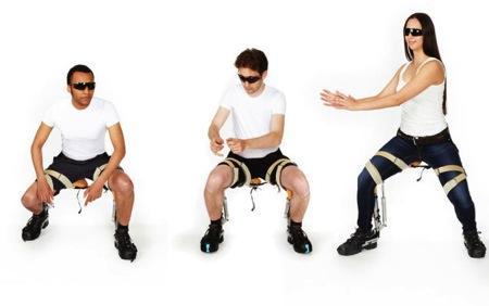 实用的外骨骼座椅创意设计
