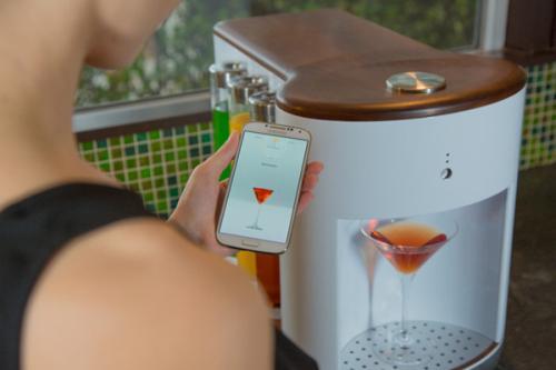自动鸡尾酒调酒器创意设计