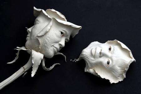 生动的陶瓷雕塑艺术创意设计