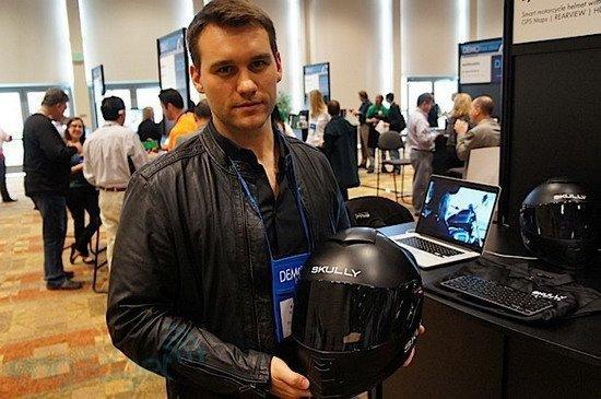 智能摩托车头盔创意设计