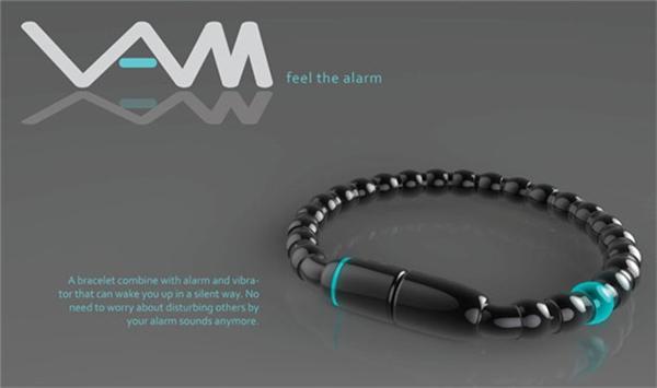 震动闹钟手链创意设计