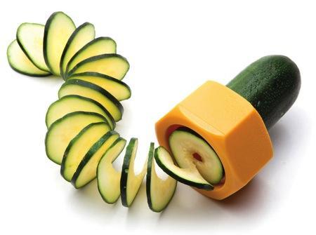 蔬果螺旋切片器创意设计