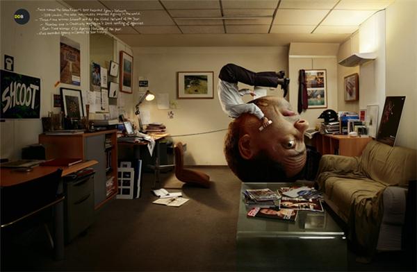 疯狂的创意广告组图创意设计