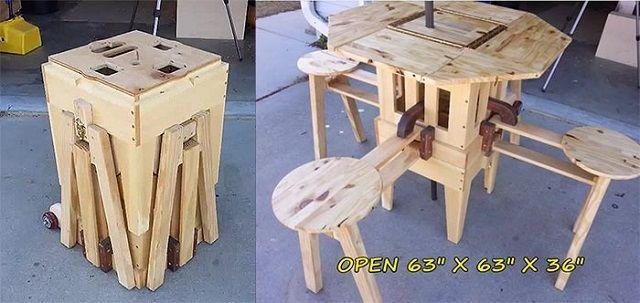 史上最强木匠创意,他制作的木头玩具让人大开眼界