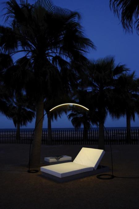 优雅的环形户外灯创意设计