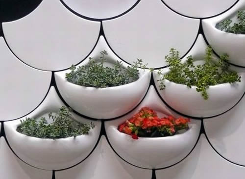 可以种花的瓷砖创意设计