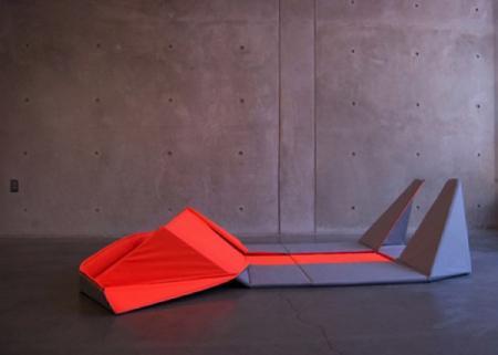 变形折叠沙发创意设计