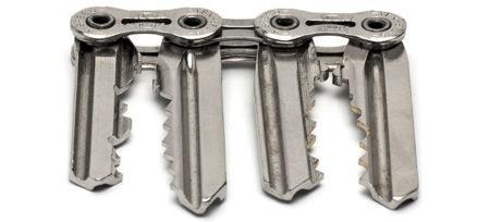 又轻又薄的钥匙串链条创意设计