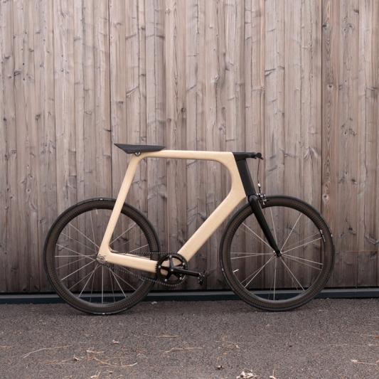 极简木质车身自行车创意设计