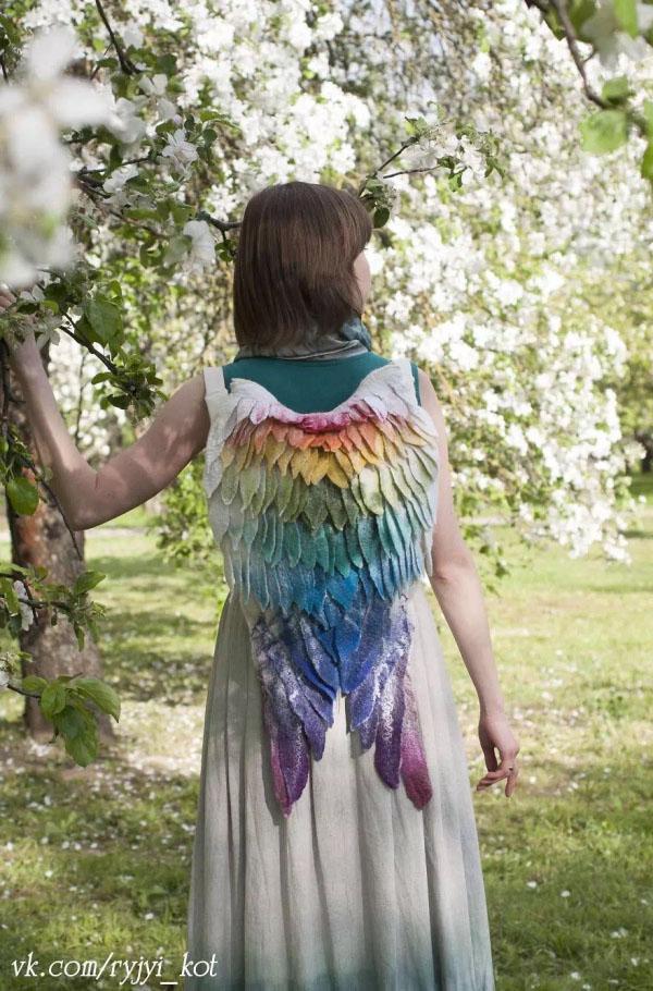 """回头率百分百的""""天使背包""""创意设计"""