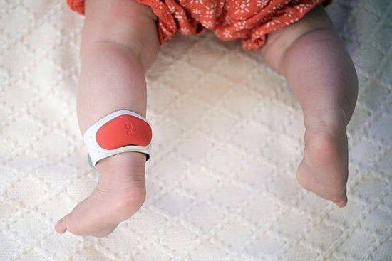 Sproutling创意,婴儿活动监测脚环创意设计