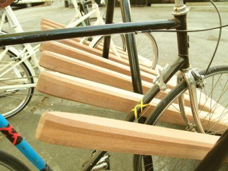 创意自行车停放架创意设计