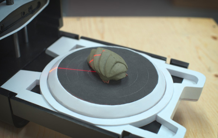 便携廉价的高分辨率3D扫描仪创意设计