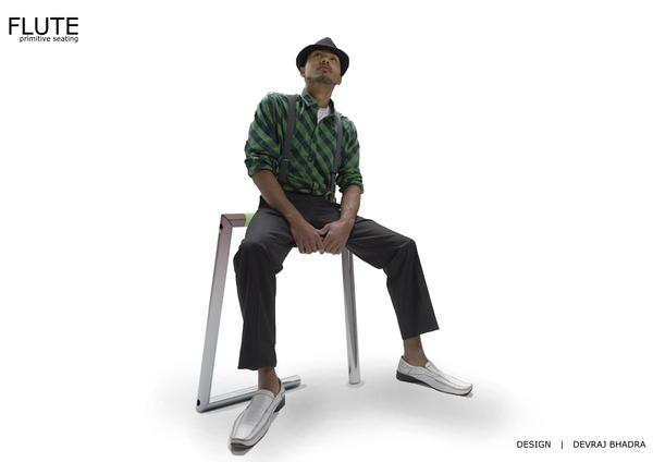 便携折叠座椅棒创意设计