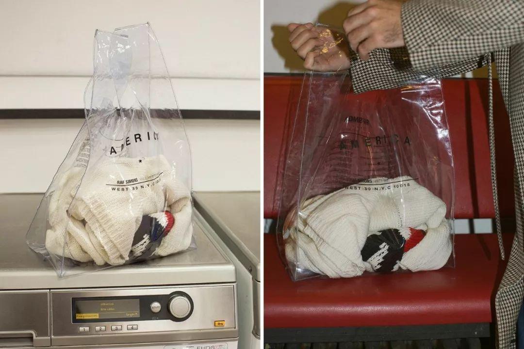 又一次贫穷限制了想象力创意,现在连塑料袋都买不起了