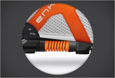带缓冲系统的跑步鞋创意,Enko创意设计