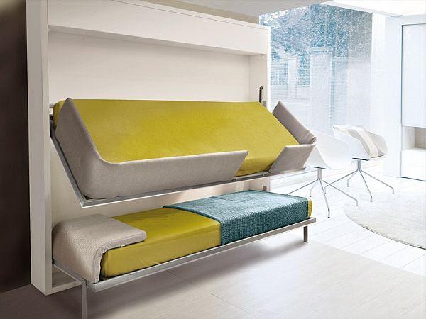 小户型必备的折叠式上下床创意设计