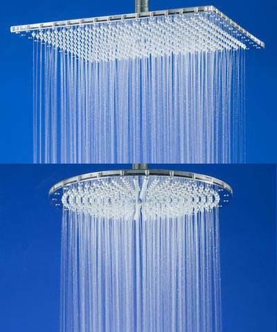 仿下雨淋浴喷头创意设计
