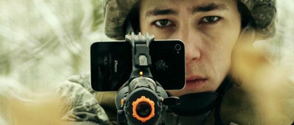 手机真人枪战游戏创意设计