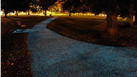 夜光路面涂料创意设计