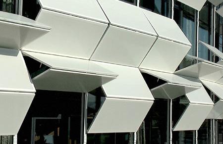 可变换外墙的房屋创意设计